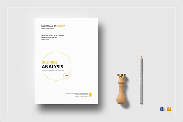 Blank SWOT Analysis Template
