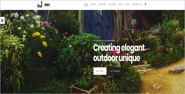 Blogger Landscaping Theme