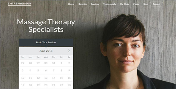 Booking Site WordPress Site For Physiotherapy & Chiropractor
