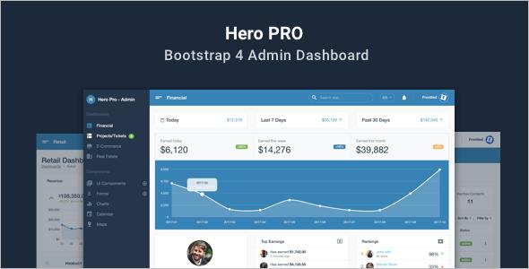 Bootstrap Responsive Website Theme