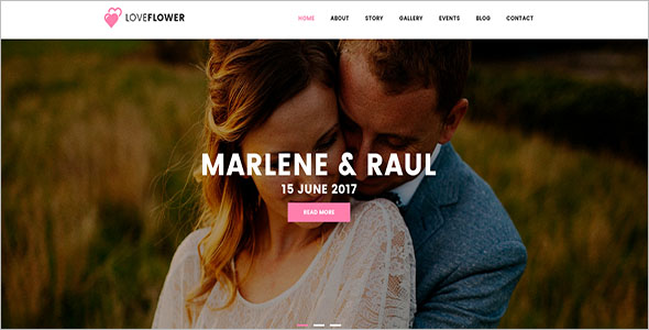 Bootstrap Wedding Template