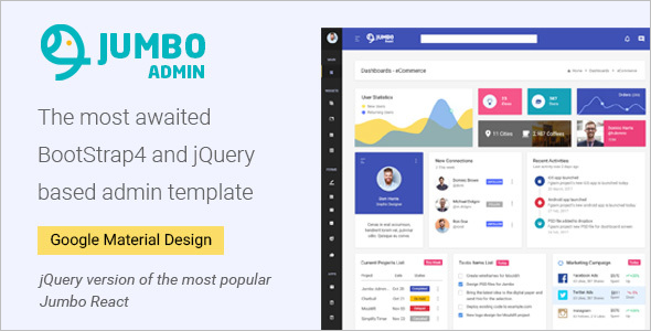 Bootstrap jQuery Template
