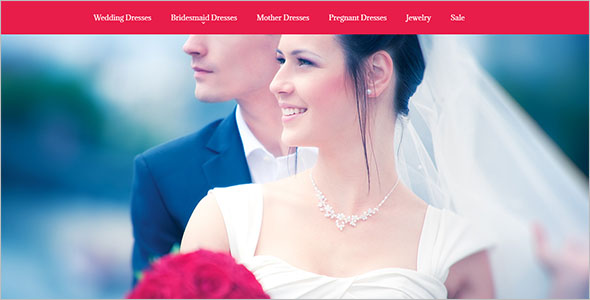 Bridal Shopping Bootstrap Template