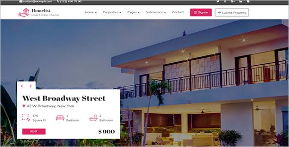 Broker WordPress Theme ForReal Estate