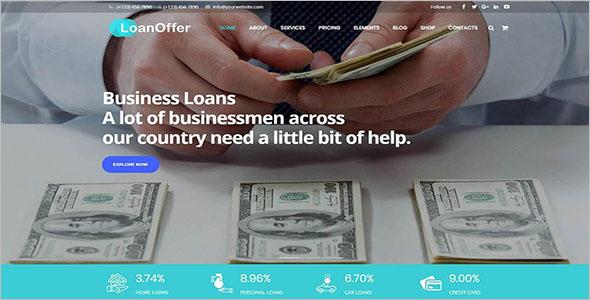 Brokerage Company WordPress Template