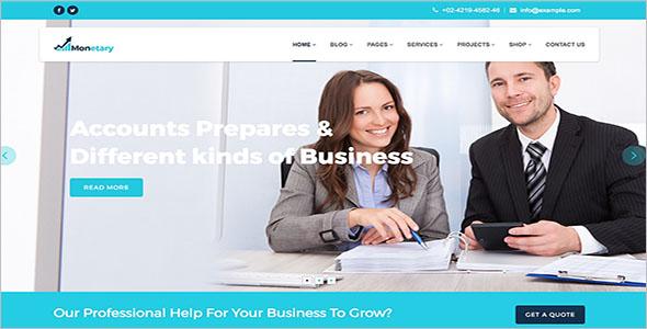 Brokerage WordPress Template