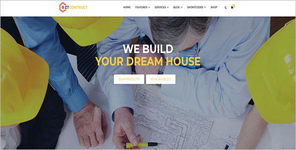 Building Construction Joomla Theme