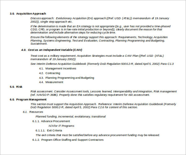 Business Acquisition Strategy Template