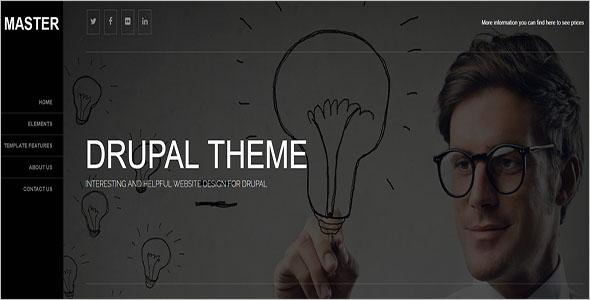 Business Blog Drupal Theme
