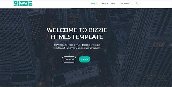 Business Blog Website Template