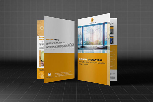 Business Brochure Design PSD