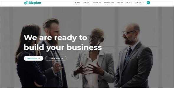 Business Plan Bootstrap Template