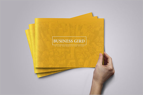 Business Plan Brochure Template