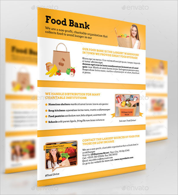 Business Promotional Flyer For Grocery