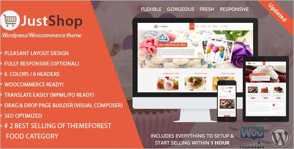 Cake WordPress Woocomerce Theme