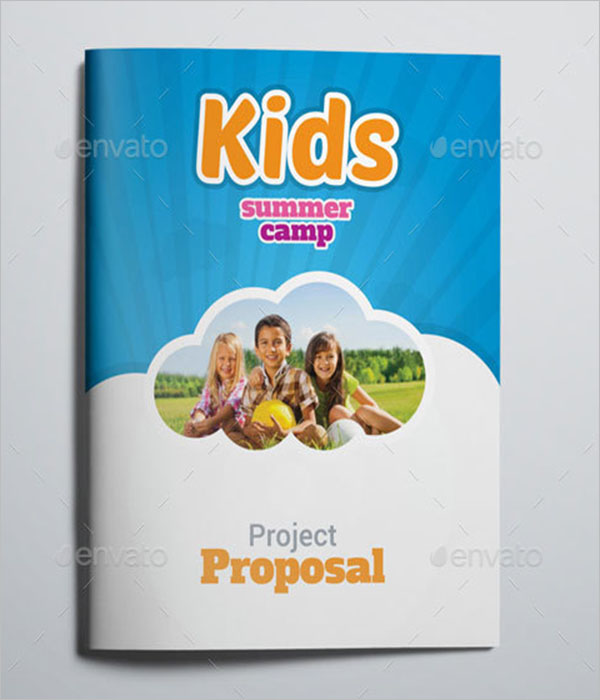 Camp Brochure Design