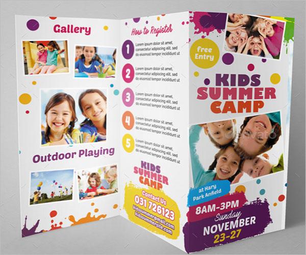 Camp Brochure Example