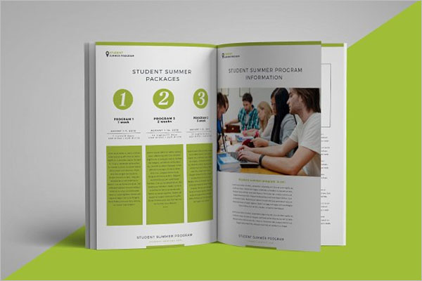 Camp Brochure Template For Student
