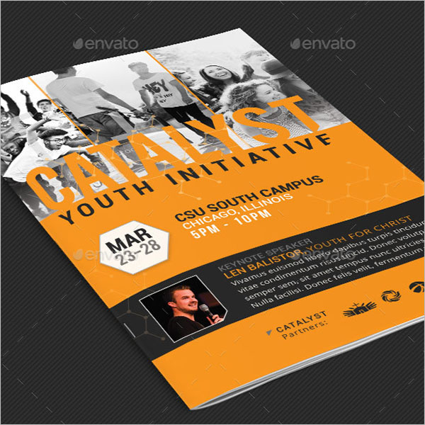 Camp Brochure Template PSD
