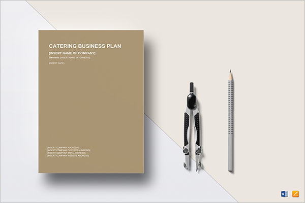 Catering Meal Planner Template