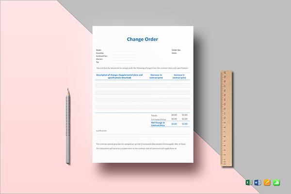 Change Sales Order Template