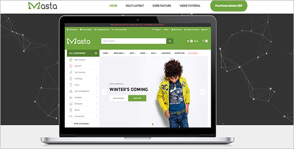 Children Magento Theme