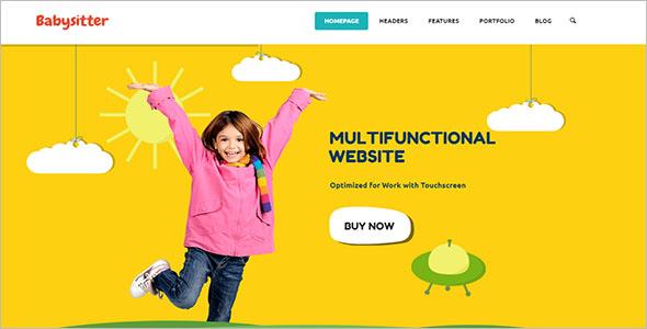 Children Site Template