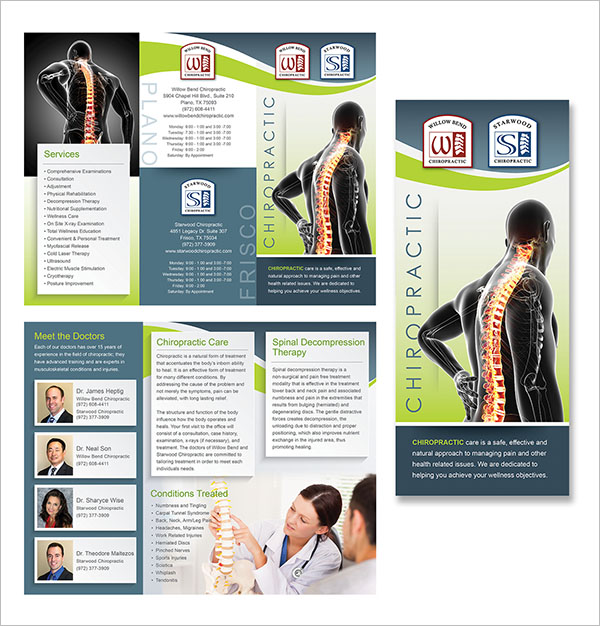 Chiropractic Society Brochure Free Download