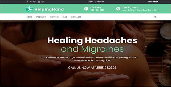 Chiropractic WordPress Theme
