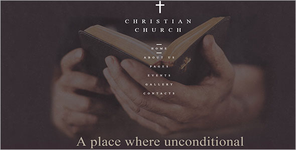 Christian Church Joomla Theme