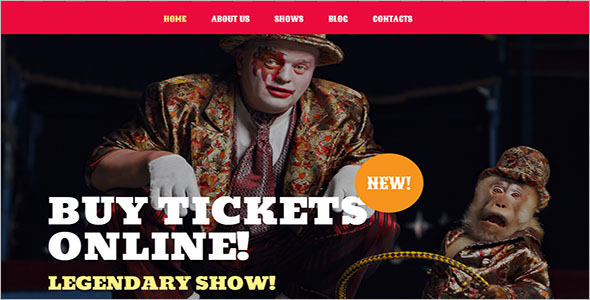 Circus WordPress Theme