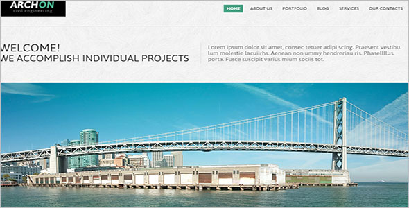 Civil Engineer Joomla Theme