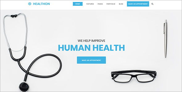 Clean Medical Joomla Theme