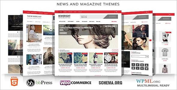 CleanNewspaper WordPress Theme