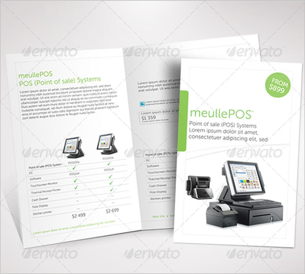 Clean Products Brochure Template