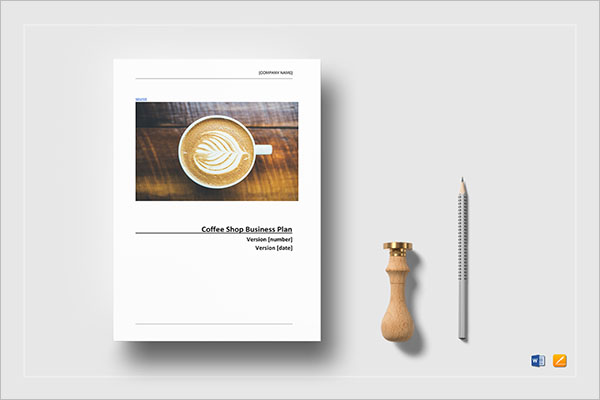 Coffee Shop Planner Template