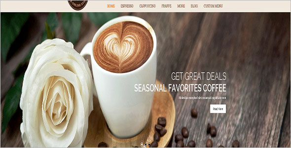 Coffee Store Magento Template