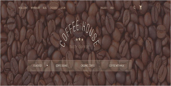 Coffee & Tea Magento Template