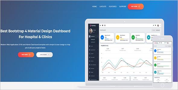 Company Latest Website Template