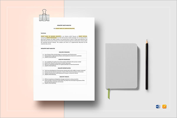 Company SWOT Analysis PowerPoint Template