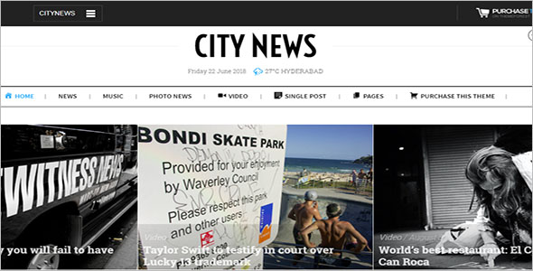Comprehensive Newspaper WordPress Theme