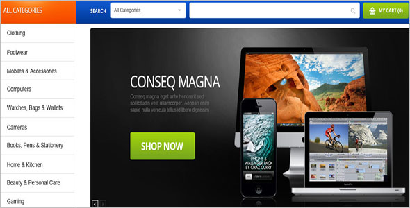 Computer Store Magento Template