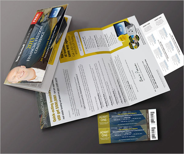 Conference Brochure Template Free Download