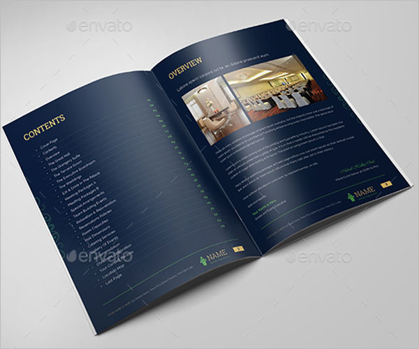 Conference Meeting Brochure Template