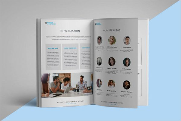 Conference Sponsorship Brochure Template