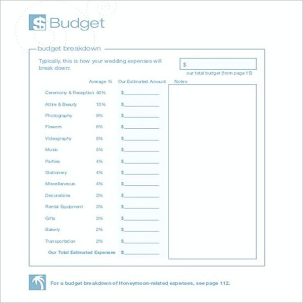 Copy Of Church Budget Template