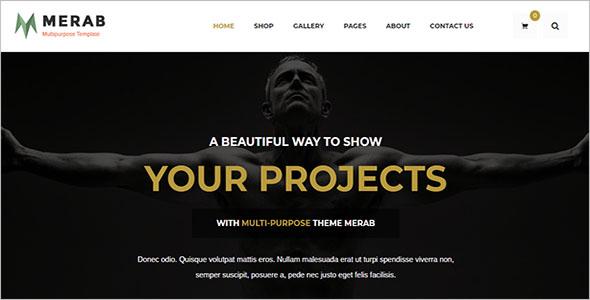 Creative Drupal Blog Theme