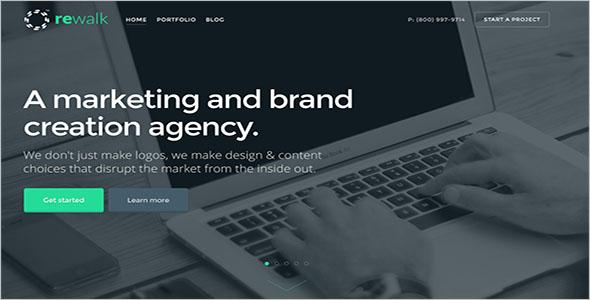 Creative HTML Blog Website Theme