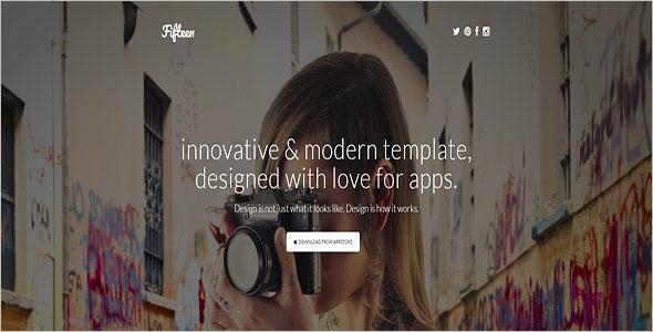 Creative Marketing Landing Page Theme