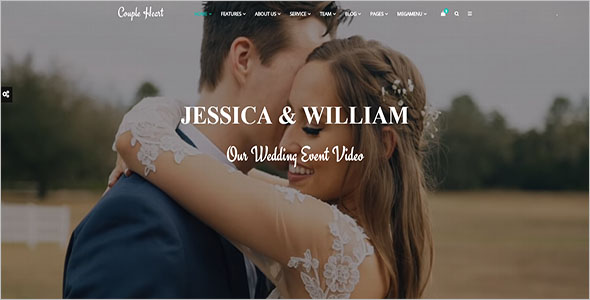 Creative Marriage Bootstrap Template